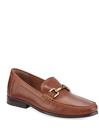 Donald J Pliner Mens Leather Bit Loafers