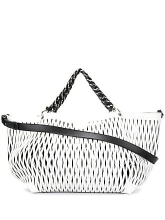 Sonia Rykiel cut-out tote bag - Branco