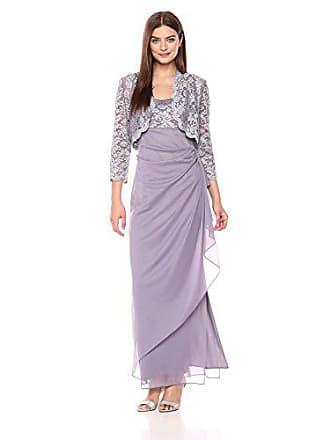 3a7c14bb48a Alex Evenings Womens Empire Waist Bolero Jacket Dress (Petite and Regular  Sizes)