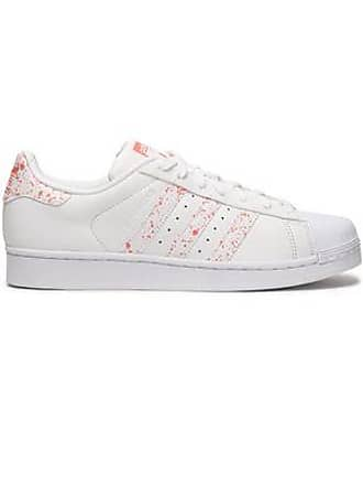 b695f67043e37 adidas Adidas Originals Woman Printed Leather Sneakers White Size 4.5