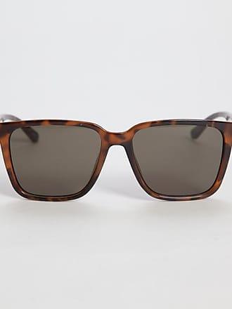 Engineer Sonnenbrille mit D Rahmen aus Azetat mit silberfarbenen Details