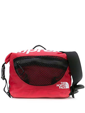 SUPREME mesh detail belt bag - Red
