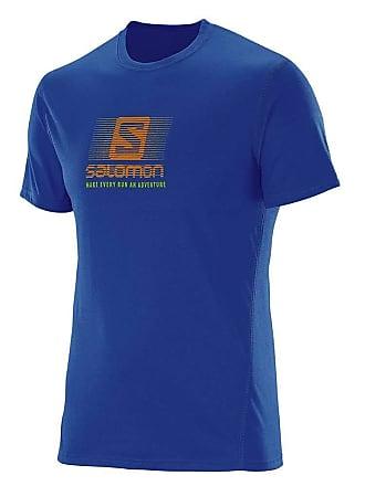 Salomon Camiseta Masculina Running Younder S60712 Azul - Salomon - EGG