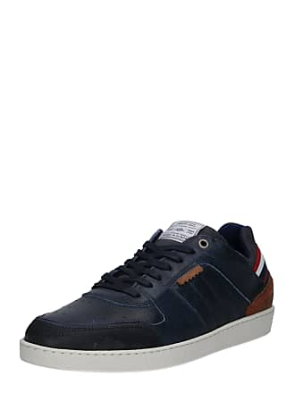 70d0748eb20 Bullboxer Sneakers laag navy / bruin / wit