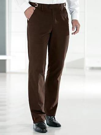 Blancheporte Pantalon polyester + coton taille réglable - marron 4250739716e