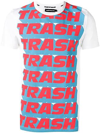 House Of Holland Camiseta com estampa x Andrew Brischler Trash - Branco