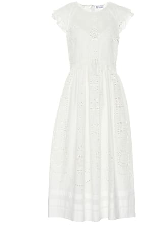 Red Valentino Broderie anglaise cotton dress