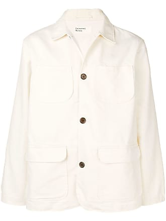 Universal Works Labour shirt jacket - Branco