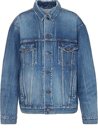 Balenciaga Like A Man Jeansjacke In Oversized-passform - Blau 84d6163dea