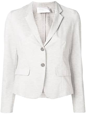 Fabiana Filippi lightweight fitted blazer - Grey