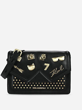 Karl Lagerfeld K/Klassik Pins Shoulder Bag