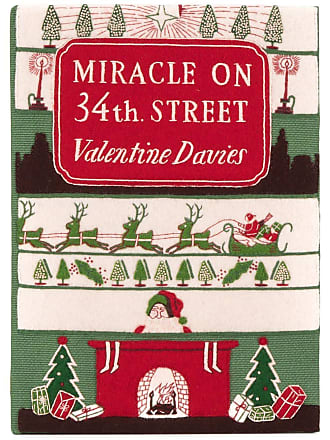 Olympia Le-Tan Clutch livro Miracle On 34th Street - Verde