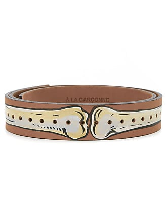 À La Garçonne leather belt - Brown