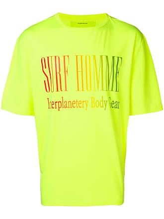 Ex Infinitas Camiseta Surf Homme - Amarelo