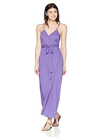 Mara Hoffman Womens Naya Wrap Cover Up Dress, Purple, X-Large