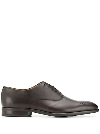 Paul Smith perforated oxford shoes - Marrom
