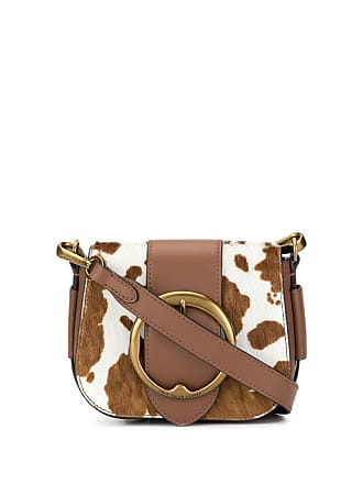 fc194edb56fd Polo Ralph Lauren cow spot cross body bag - Brown
