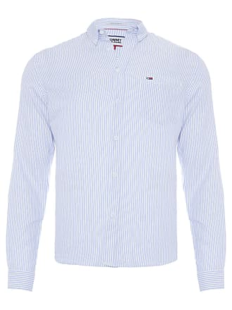 Tommy Jeans CAMISA MASCULINA OXFORD CLASSICS - AZUL