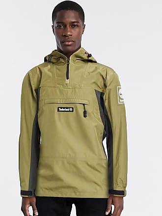 Timberland waterproof pullover jacket-Green