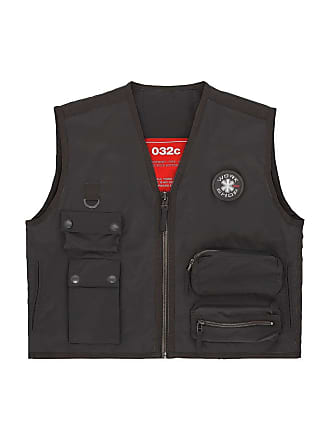 032c Black Cosmic Workshop Vest - The Webster
