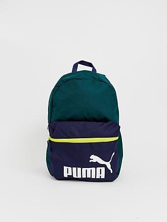 Puma Phase - Grön ryggsäck med färgblock - Grön b4ca9bf988d0d