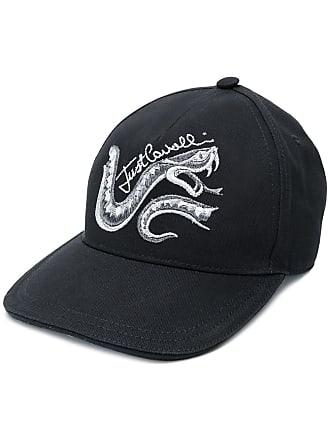 Just Cavalli Boné com logo e serpente - Preto