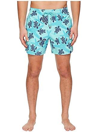 bc2d419e70 Vilebrequin Moorea Stars and Turtles Swim Trunk (Lagoon) Mens Swimwear