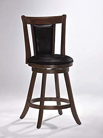 ACME 96081 Tabib Swivel Counter Height Chair, Cappuccino