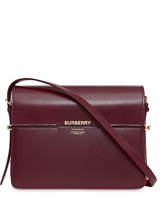 3e6964f416e3 Burberry Large Leather Grace Bag - Red