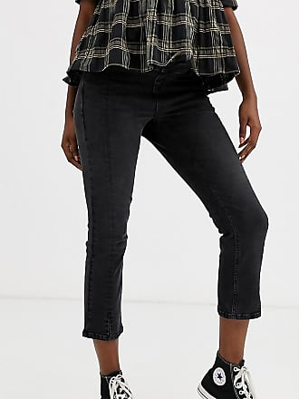 Urban Bliss high waist kick flare jeans-Black