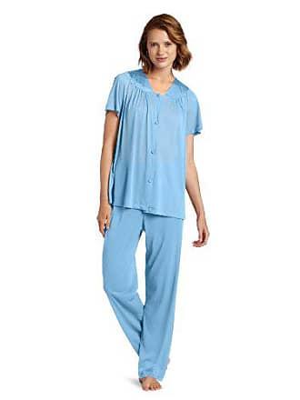 Vanity Fair Womens Plus Size Coloratura Sleepwear Short Sleeve Pajama Set  90807 fe6e4ac05