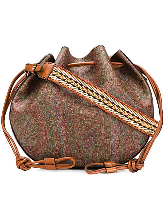 Etro bucket shoulder bag - Brown