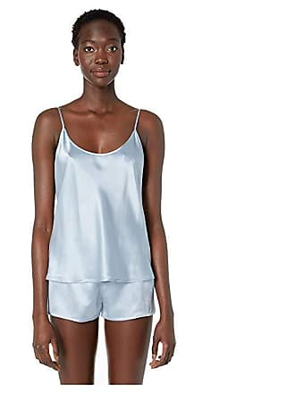 La Perla Silk Cami Top (Grey Blue) Womens Pajama f6b3e45bd