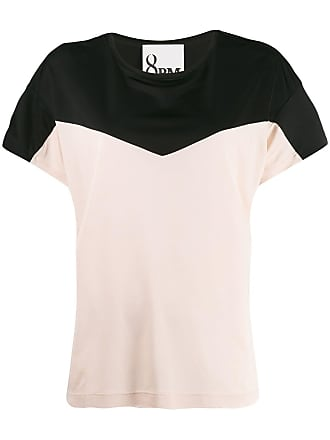 8pm two tone T-shirt - Pink