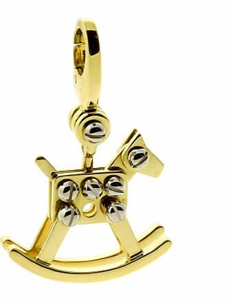 Cartier Rocking Horse Charm Gold Pendant