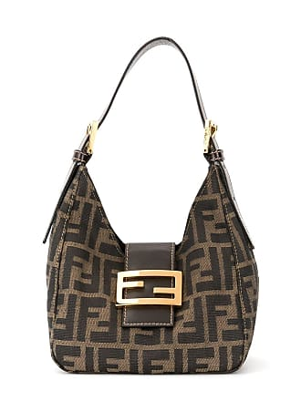 6992ba9a9 Fendi Zucca pattern Mamma Baguette shoulder bag - Brown