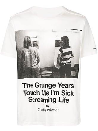 TAKAHIROMIYASHITA TheSoloist. Camiseta com estampa fotográfica - Branco