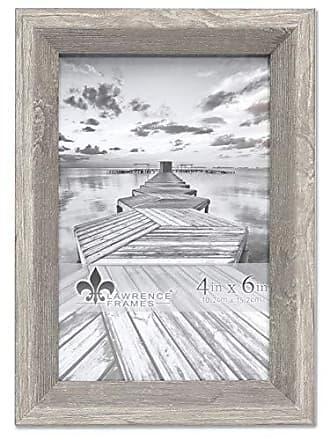 Lawrence Frames 4x6 Bradley Gray Picture Frame