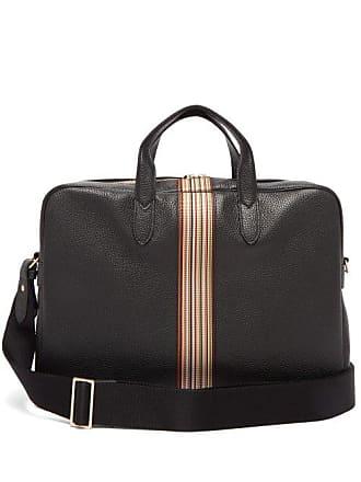 4a17c16d4 Paul Smith Signature Stripe Leather Briefcase - Mens - Black