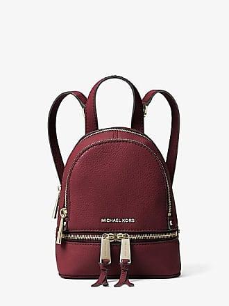 Michael Kors Rhea Mini Leather Backpack
