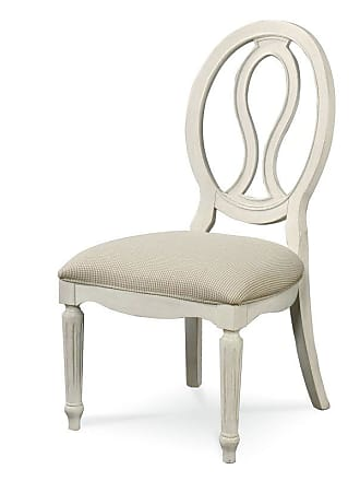 Universal Furniture Summer Hill Pierced Back Side Chair - Set of 2 Cotton - UNIR1522-1