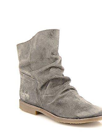 251499ff3bb070 Felmini Damen Schuhe - Verlieben Clash 8114 - Cowboy   Biker Stiefel -  Echte Leder -