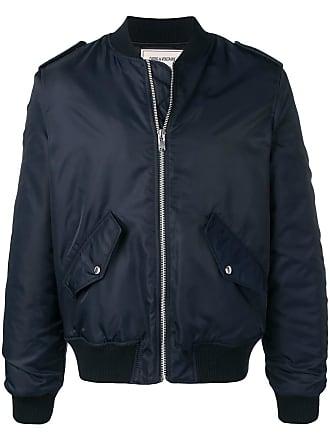 Zadig & Voltaire logo bomber jacket - Blue