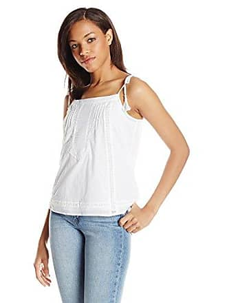 Joe's Womens Gianna Cotton Lawn Cami, White, M