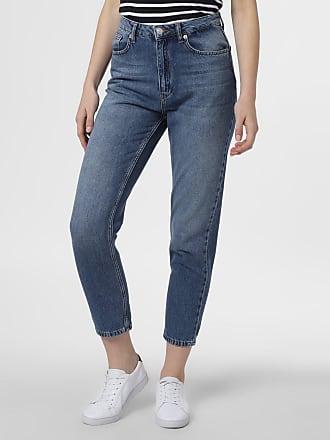 NA-KD Damen Jeans blau