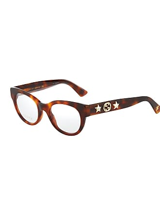 Gucci Round Tortoiseshell Acetate Optical Glasses