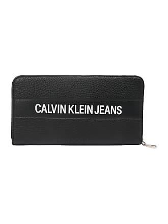 99535b399faad Calvin Klein Jeans Geldbörse LOGO BANNER LARGE ZIPAROUND schwarz