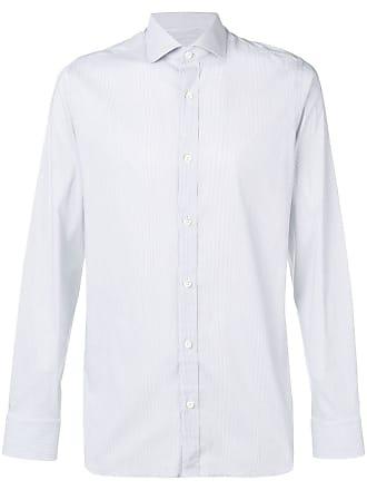 Ermenegildo Zegna micro-striped shirt - Grey