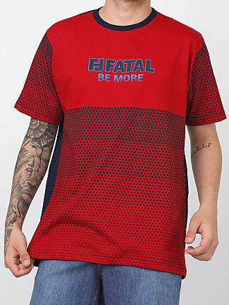 Fatal Surf Camiseta Fatal Be More Vermelha