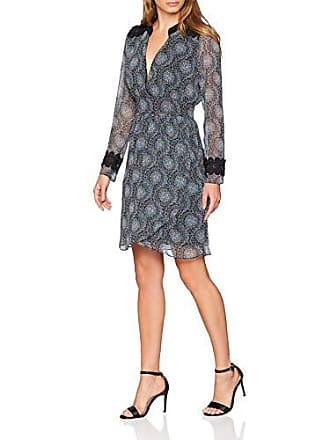 8b6cadd261d Nafnaf JHNR81D Robe Femme NA Multicolore (Imprime 487) 34 (Taille  Fabricant 34